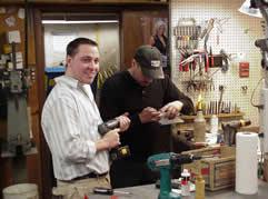 Tool Repair at Burns Tools