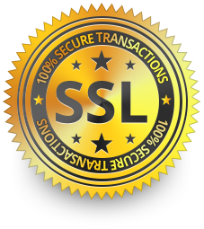 SSL Protected - 100% Secure Transactions